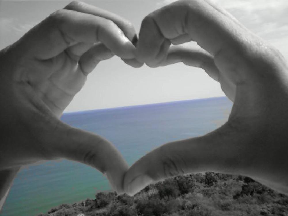 Photo in Nature #love #sea