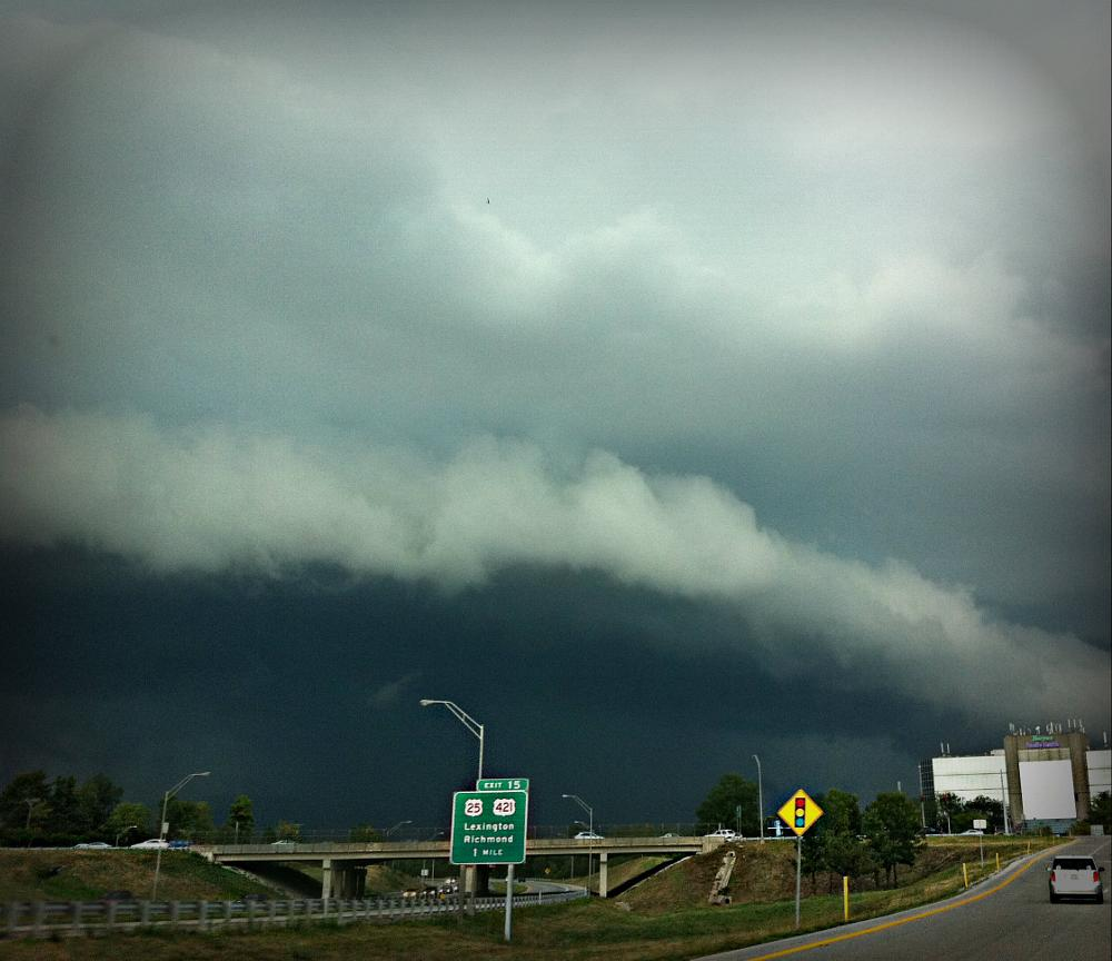 Photo in Landscape #storm #storm clouds #weather #nature #mother nature