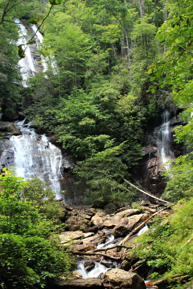 Photo in Landscape #waterfall #anna ruby #unicoi state park #n ga mountains