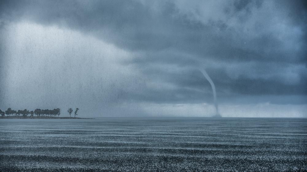Photo in Nature #storm #clouds #rain