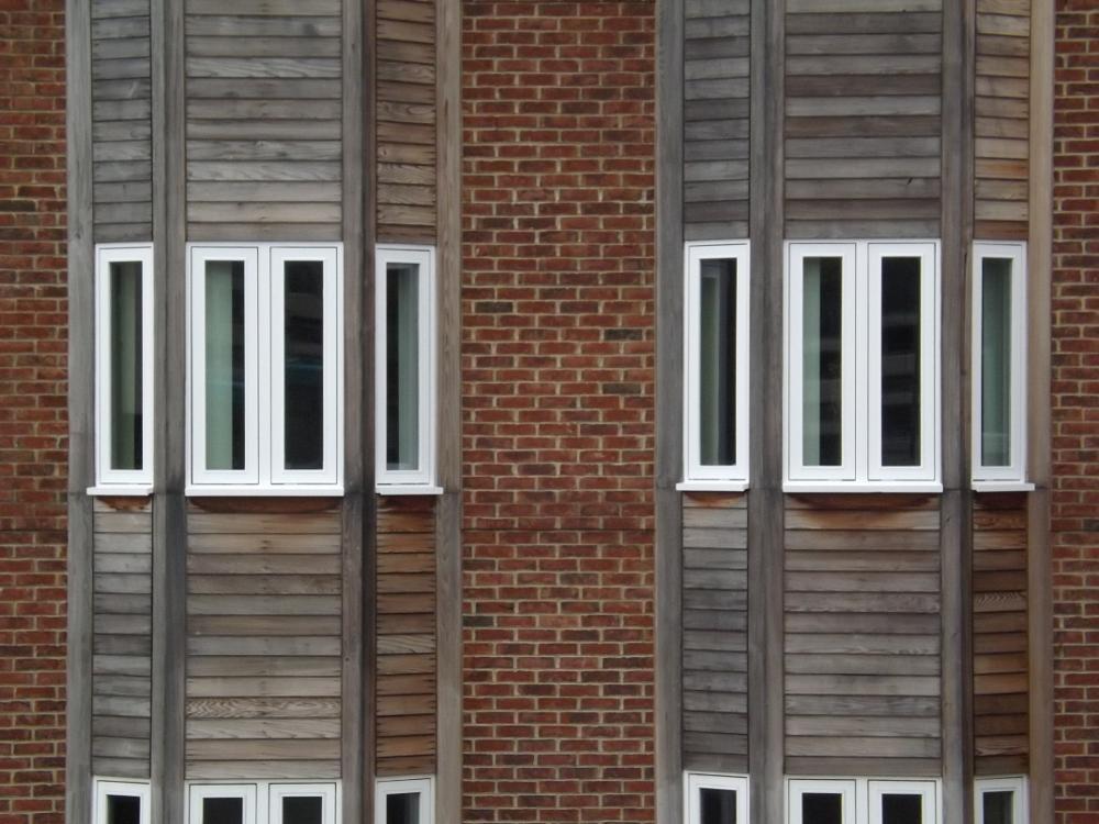Photo in Architecture #flats #symmetrical #windows