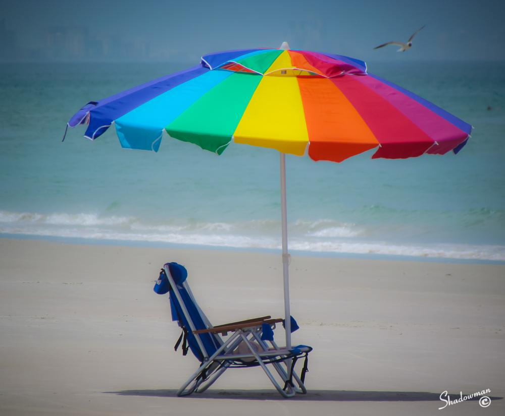 Photo in Abstract #beach #chair #photography