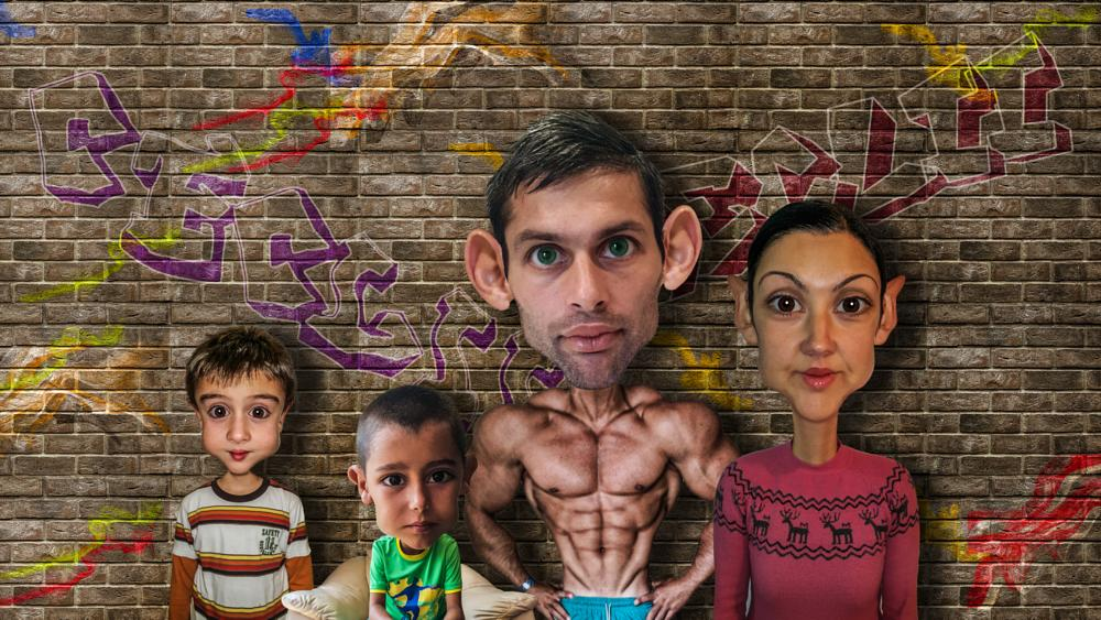 Photo in Fine Art #ceclii #photoshop #note 4 #cartoon #family