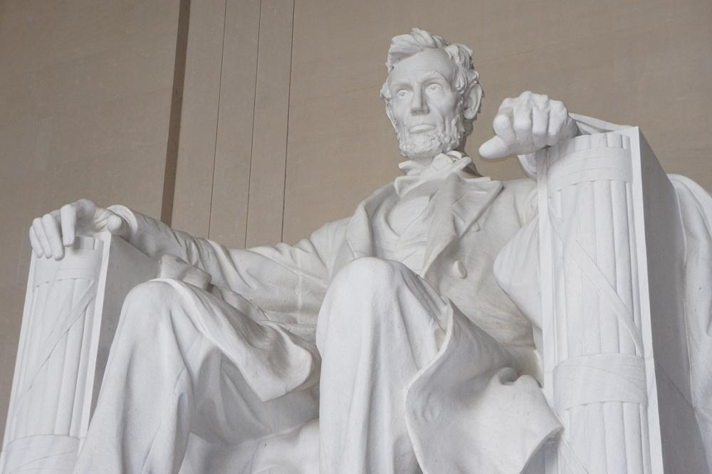 Photo in Travel #lincoln #statue #washington dc