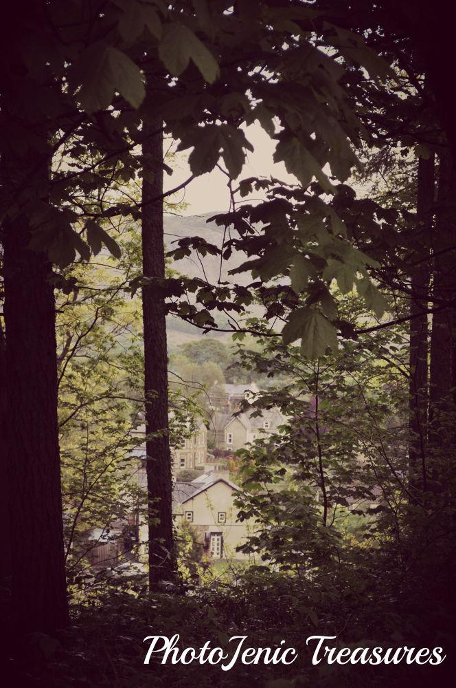 Photo in Architecture #village #forest #photojenic treasures #pretty #calm #cumbria