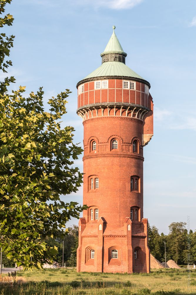 Photo in Architecture #berlin #germany #marienfelde #tower #water