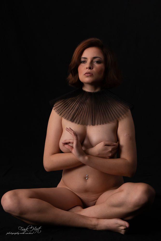 Photo in Nude #girl #model #nude #sexy #slim #studio #topmodel