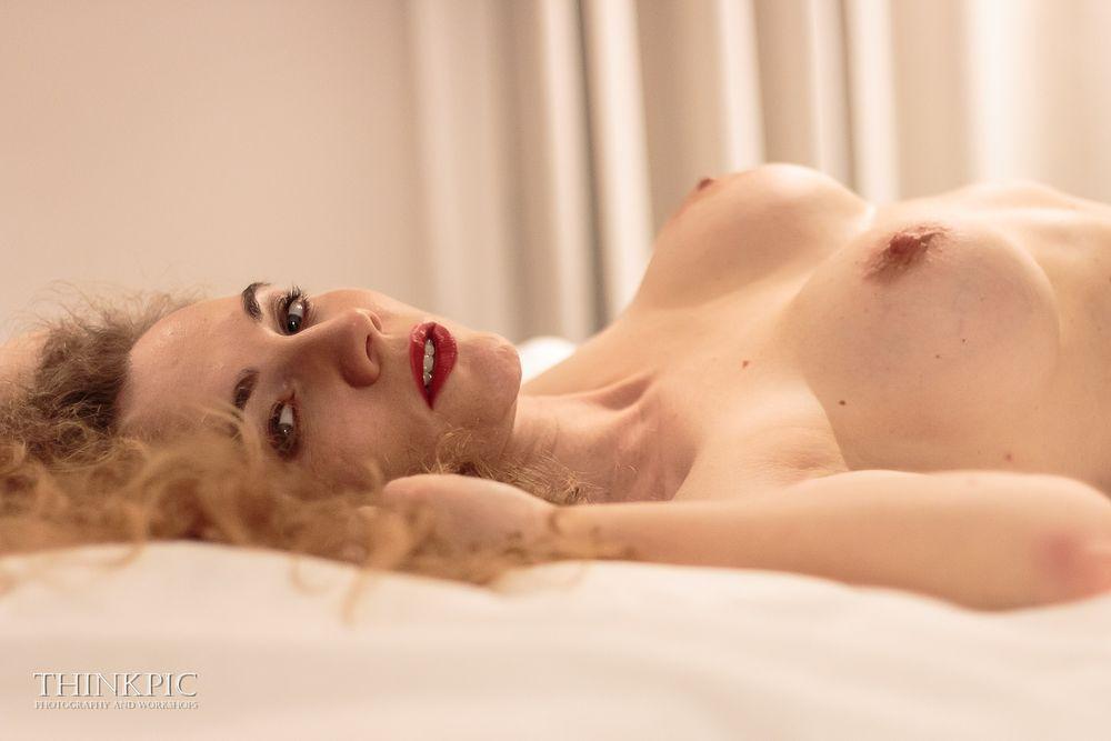 Photo in Nude #girl #nude #slim #beauty #bed
