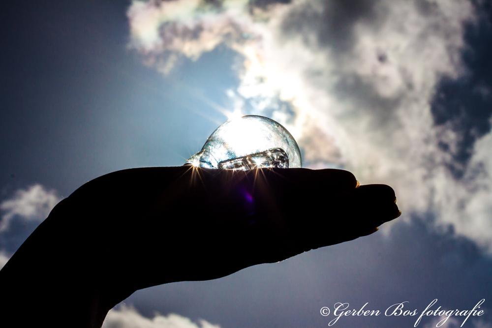 Photo in Random #idea #halo #lightbulb #sky