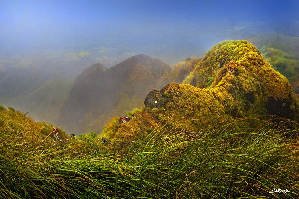 Photo in Landscape #mt. batulao #batulao #mount batulao #zernan mataya #philippines #mountain