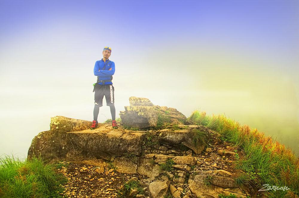 Photo in Nature #pico de loro #mt pico de loro #zernan mataya #nature #mountain #summit