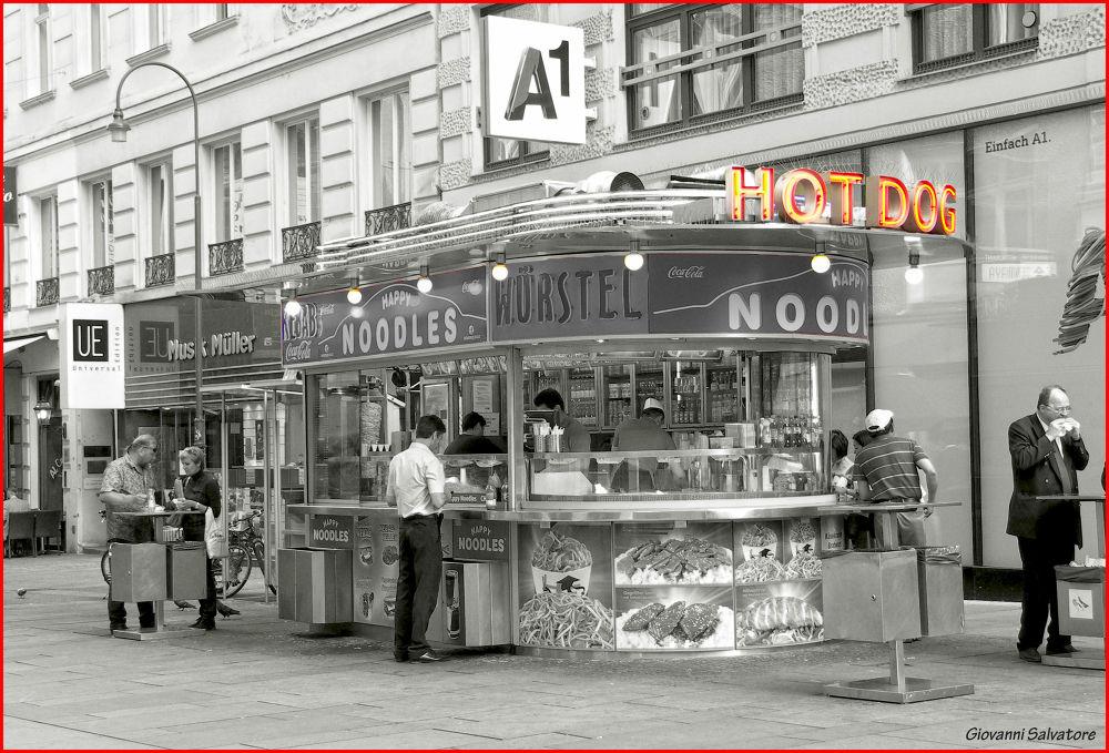 Photo in Random #vienna #austria #hot dog