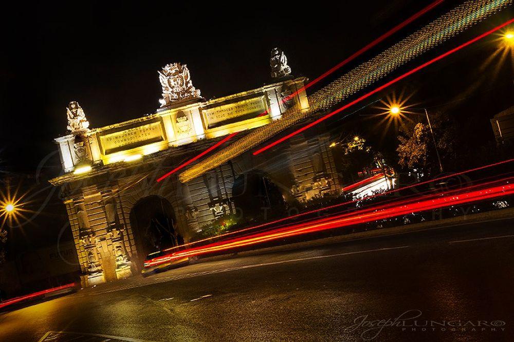 Photo in Architecture #malta #lights #history #traffic #speed #valletta