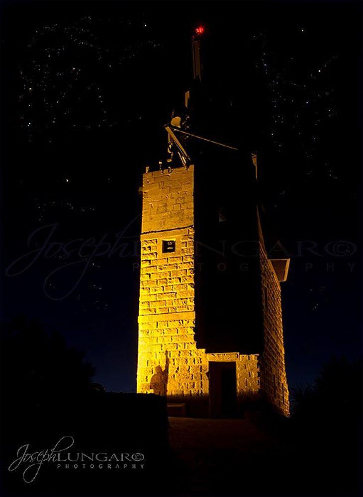 Photo in Random #night photography #stars #towers #gozo #malta #travel #blue sky
