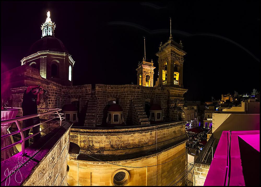 Photo in Random #gozo #malta #night potography #church #views #colors #travel #holiday