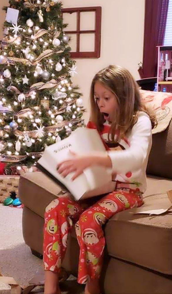 Photo in Random #christmas #surprise #present #child