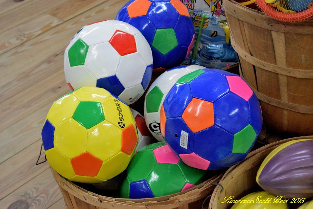 Photo in Still Life #balls #soccer balls #footballs #still life