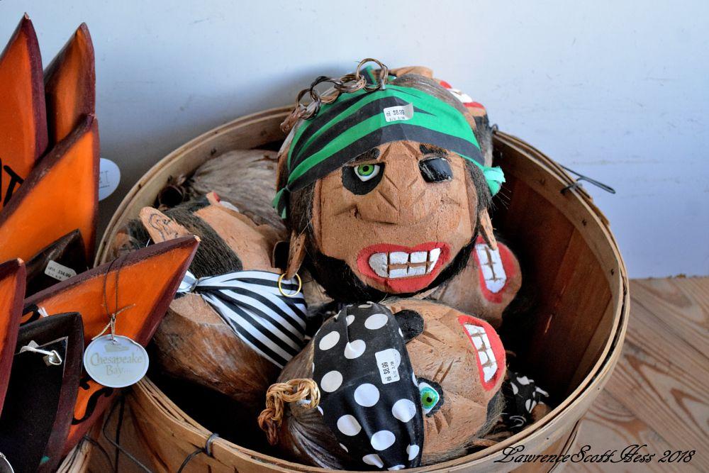 Photo in Still Life #coconuts #pirates #basket #still life