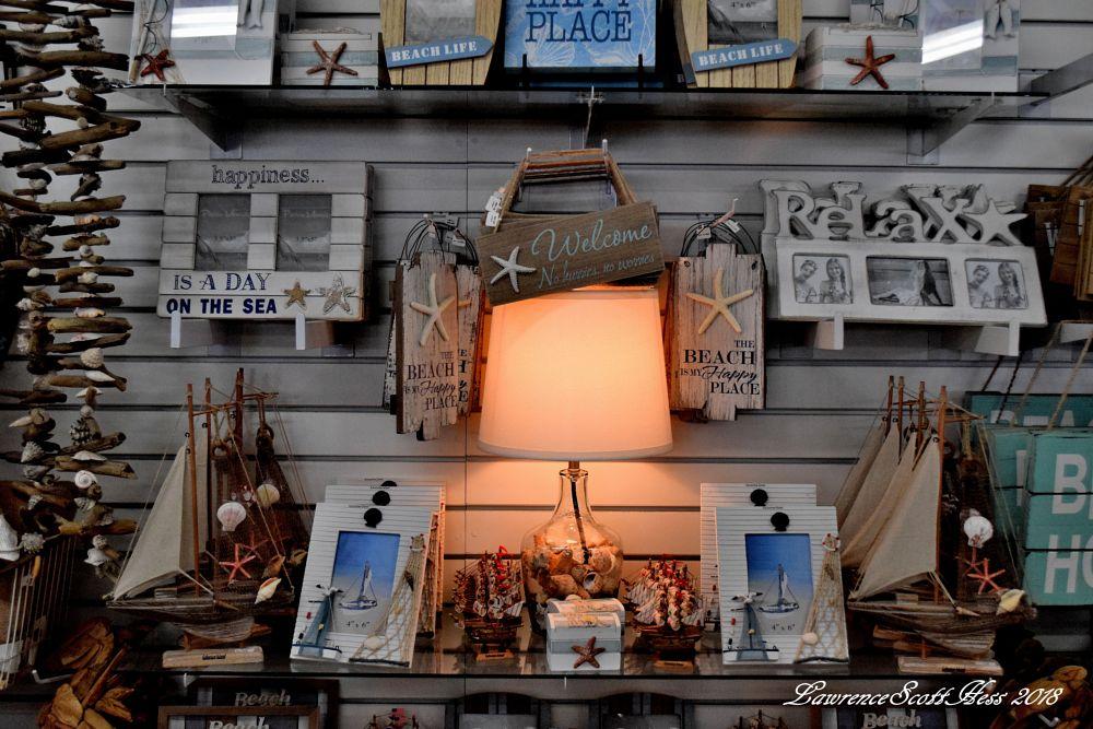 Photo in Still Life #lamp #murdochs #galveston #texas #still life #souvenirs