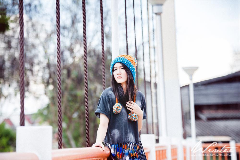 Photo in Portrait #winter #warm #feeling #portrait #people #bridge