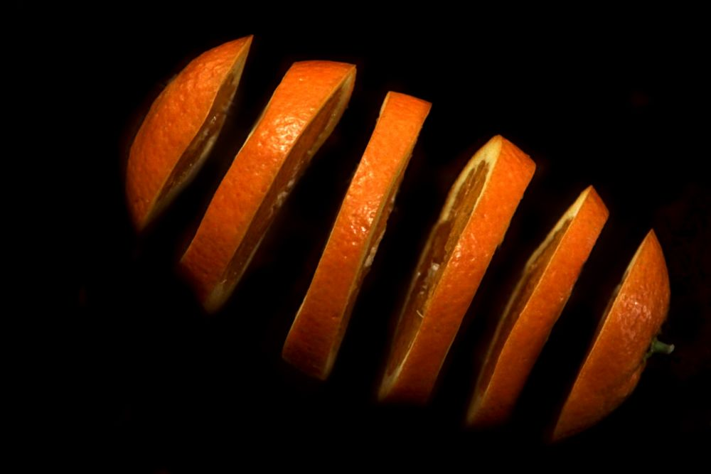Photo in Food #orange #black
