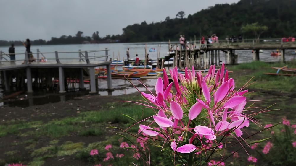 Photo in Travel #bali #lake #dew drops