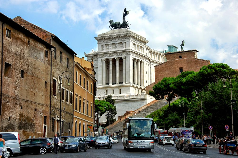 Photo in Cityscape #historical #buildings #ancient #rome #monuments #streetphotography #cityscape #travel #italy #exploring