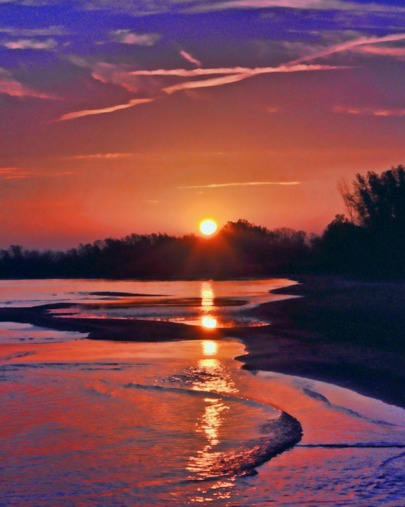 Photo in Landscape #presque isle #pa #sunrise