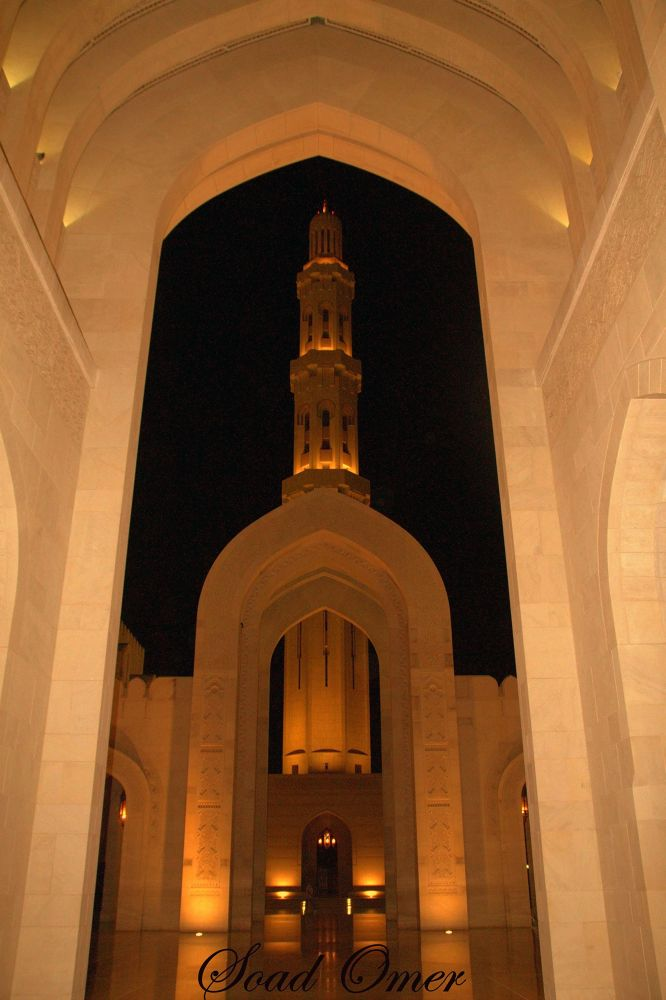 Photo in Architecture #the great mosque muscat  om