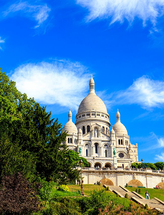 Photo in Landscape #sacrecoeur #paris #france #fransa #squarewillette