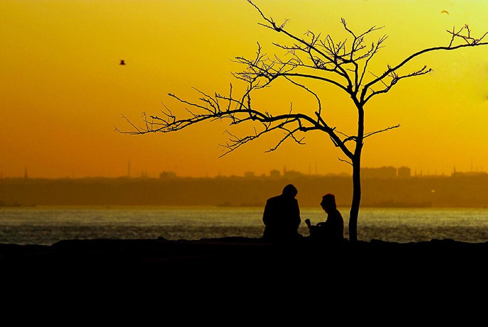 Photo in Street Photography #love another with sunset #istanbul #kadıköy #sunset #love