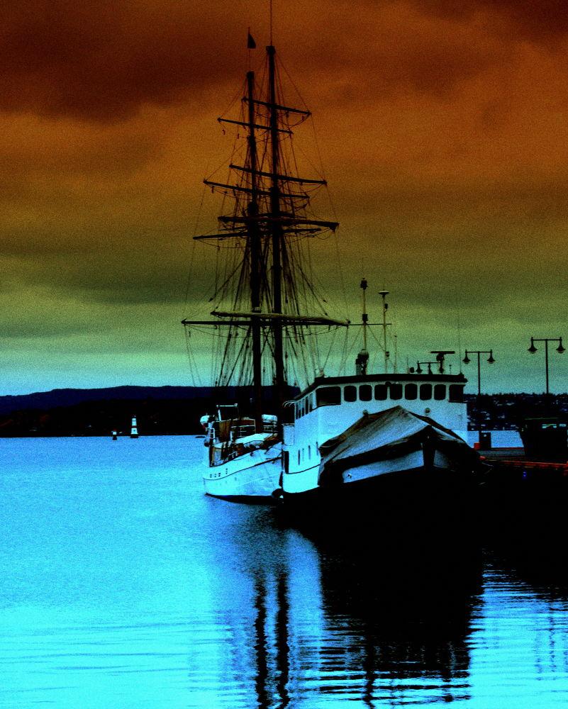 Photo in Random #boat #oslo #sailing