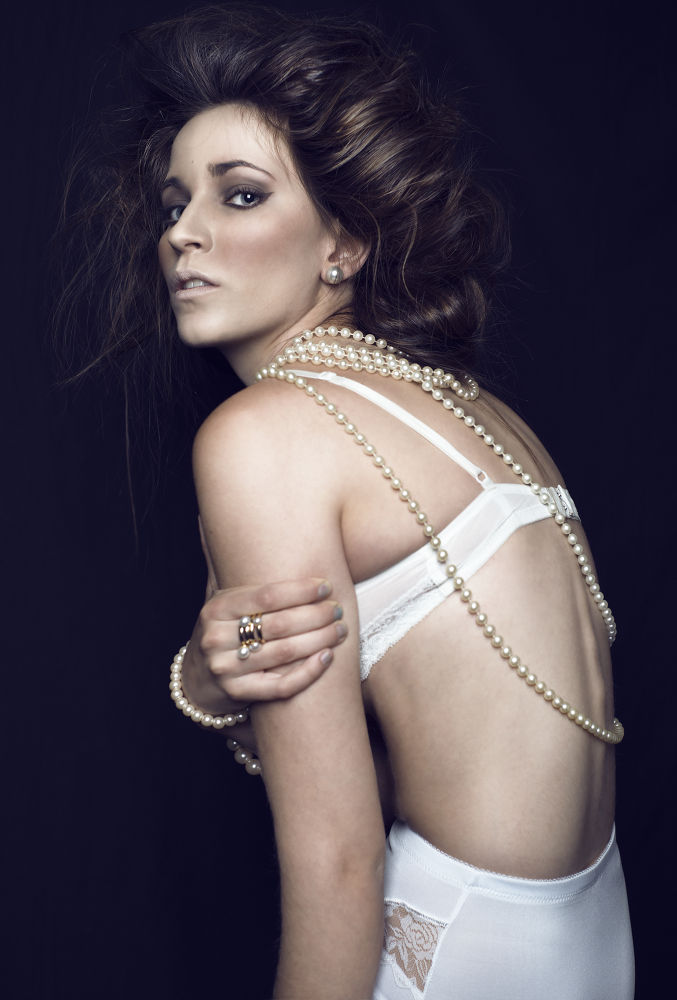 Photo in Random #ypa2013 #fashion #beauty #glamour #cristina gonzalez #portrait #perlas