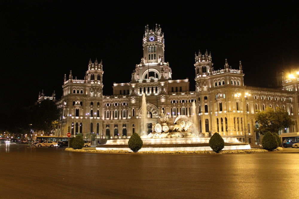 Photo in Architecture #palacio #telecomunicaciones #madrid #cibeles #spain #ypa2013