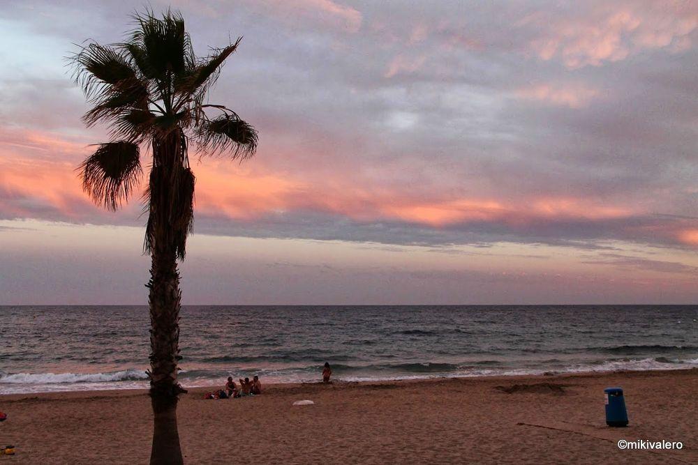 Photo in Random #villajoyosa #beach #spain #alicante #sunset #sea #ypa2013 #sky