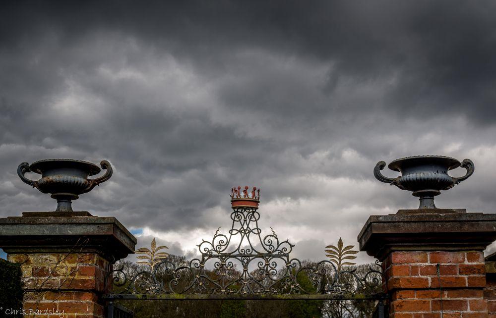Photo in Landscape #gates #landscape #tatton hall #gardens