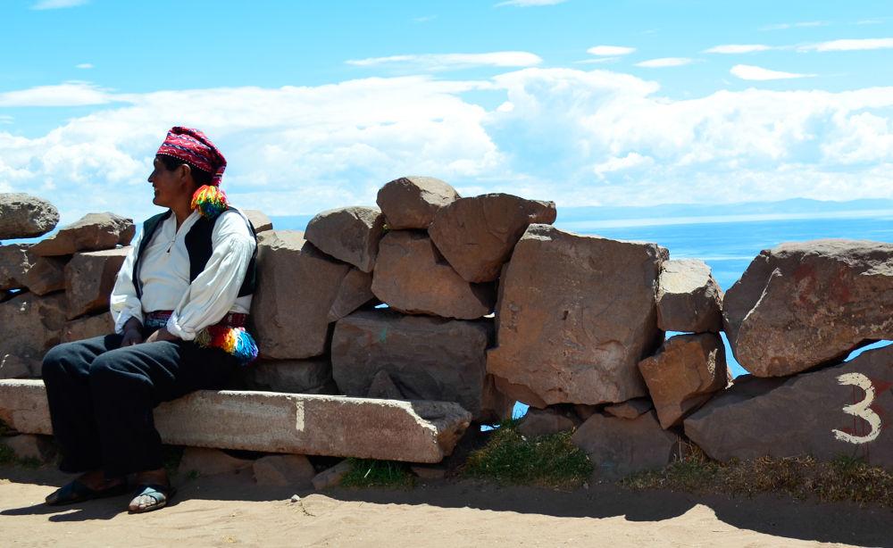 Photo in Travel #peru #puno #amantani #lake titicaca