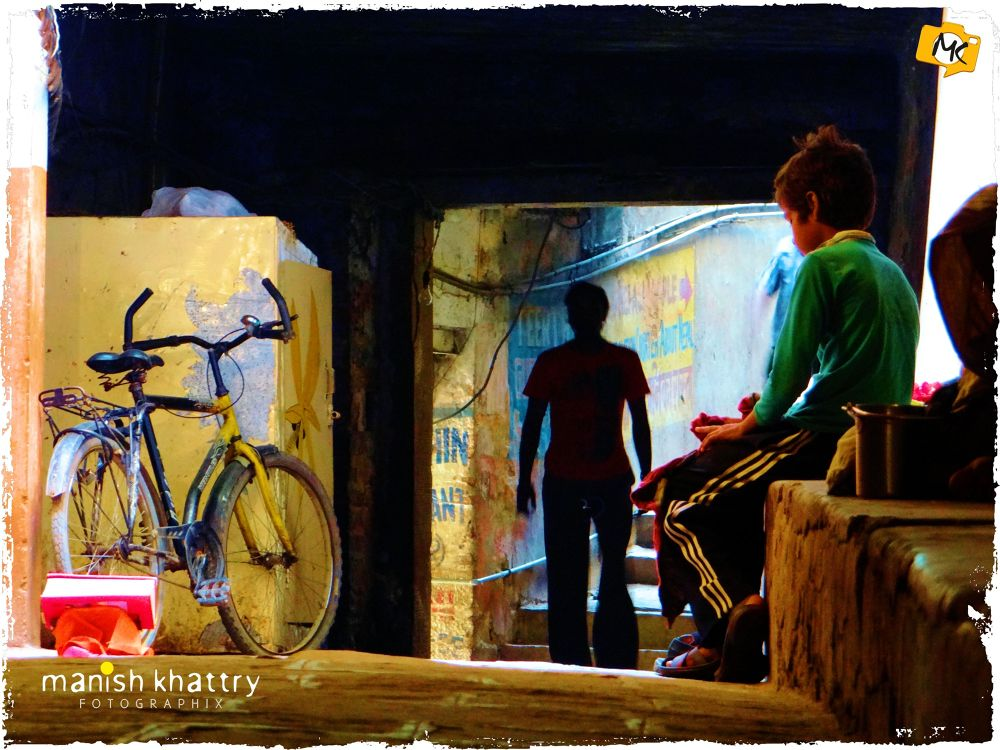 Photo in Random #street #banaras #varanasi #kashi #street of kashi #manish khattry