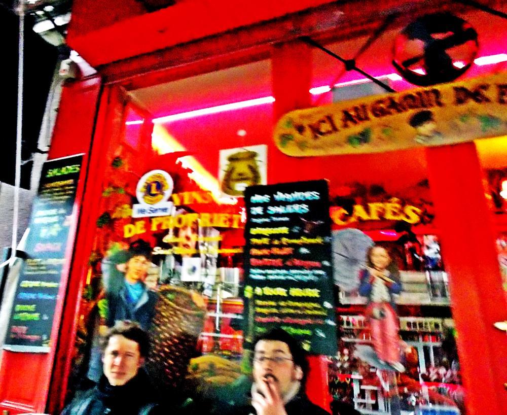 Photo in Street Photography #cafe #weird #blurr #paris
