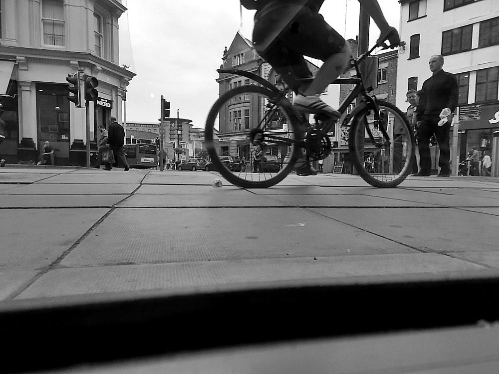Photo in Street Photography #bike #street #people #shopping #liverpool