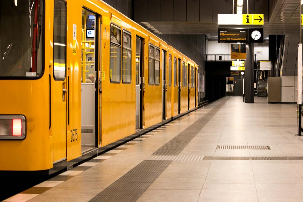 Photo in Travel #berlin #subway #ubahn