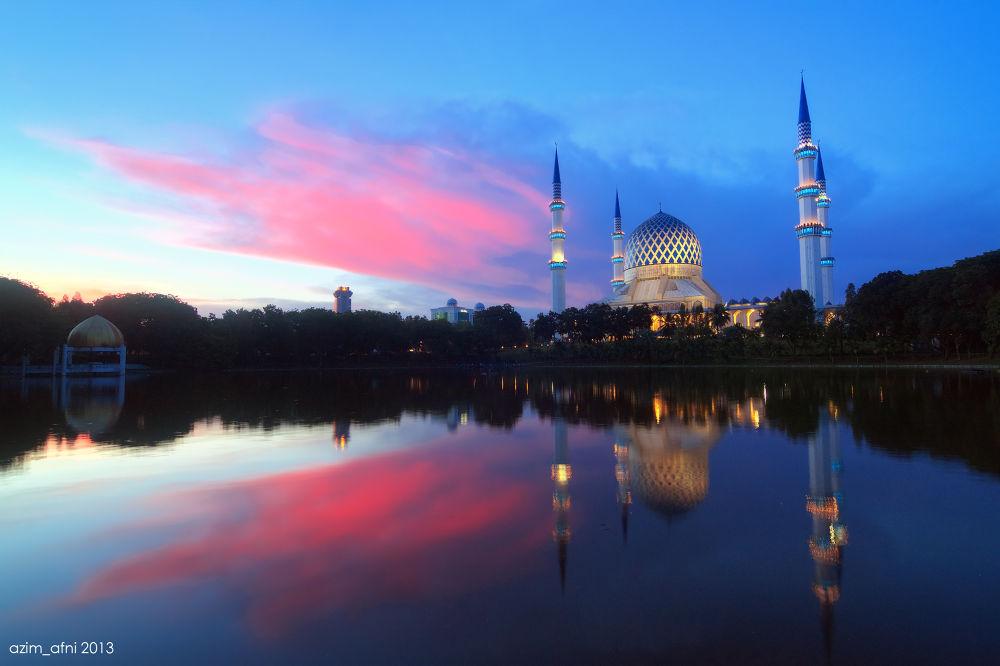 Photo in Random #sultan salahuddin abdul aziz m #ypa2013 #hdr #landscape #malaysia #shah alam