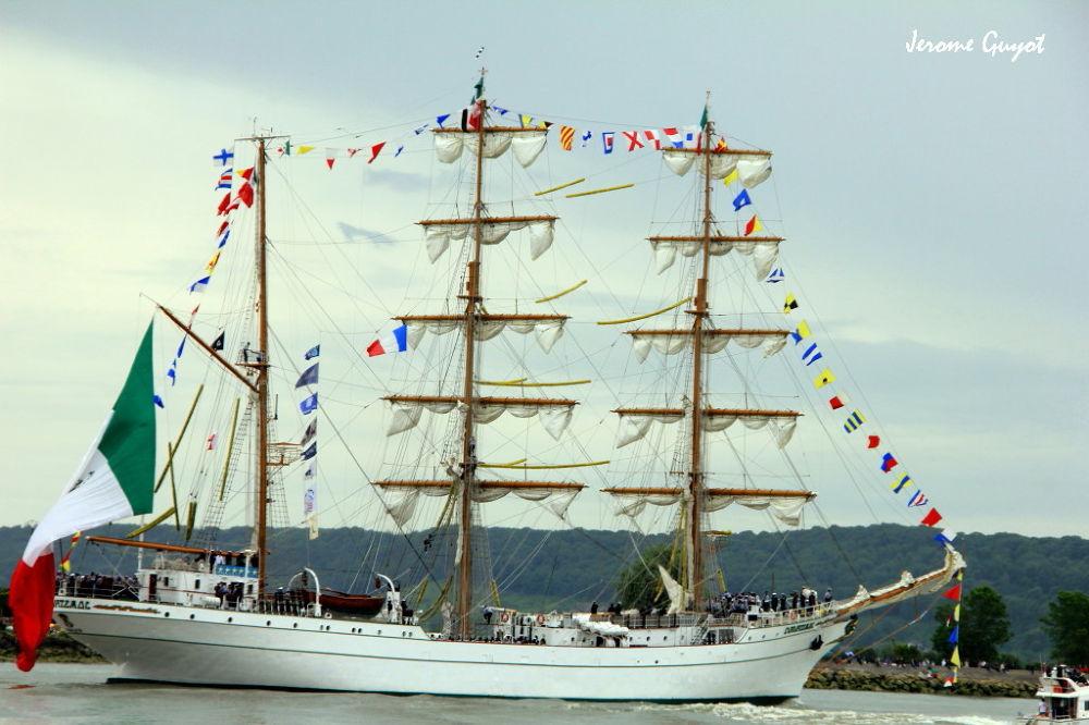 Photo in Random #cuauhtemoc #armada #rouen #seine #grande #parade #bateaux #voilier