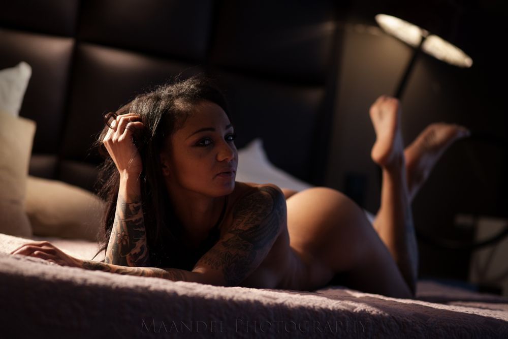 Photo in People #maandel photography #sabrina #nude #sexy #hot #girl #ass #bed