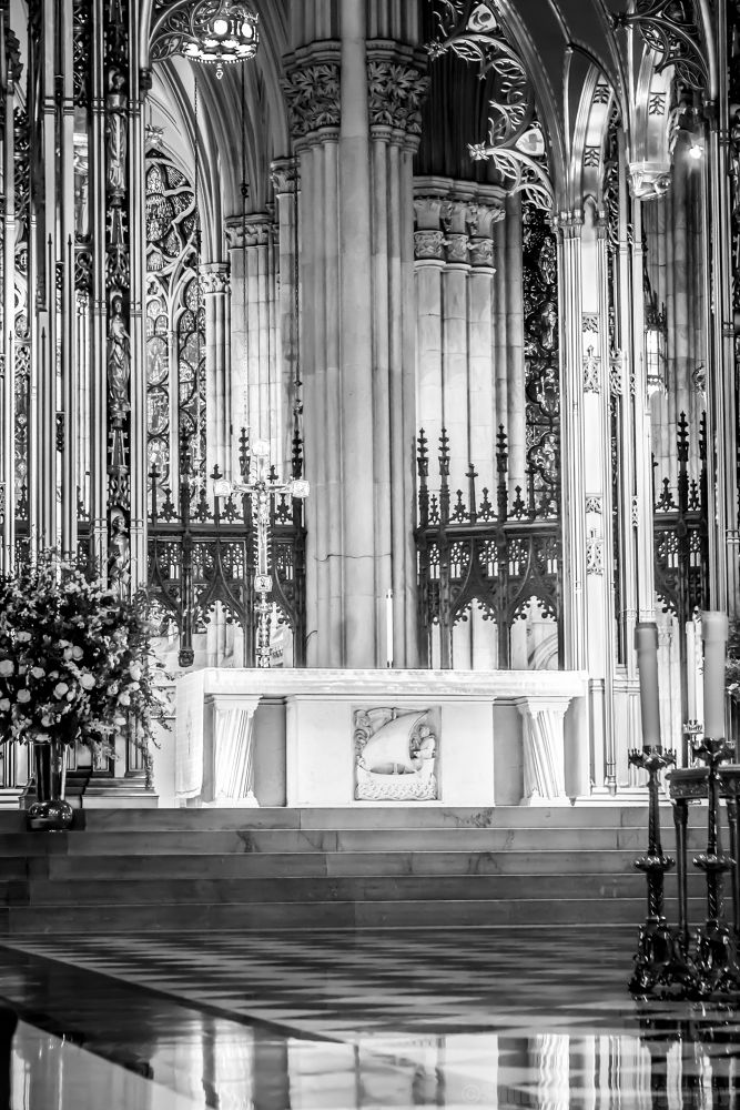 Photo in Black and White #church