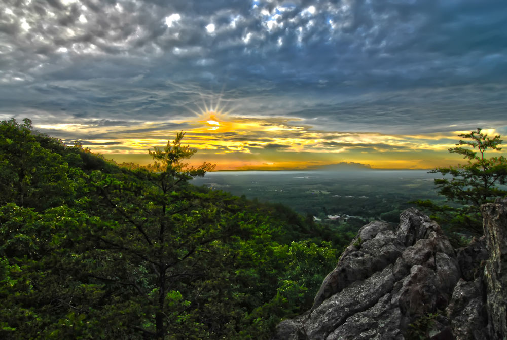Photo in Landscape #mountain #hdr #landscape #sunset
