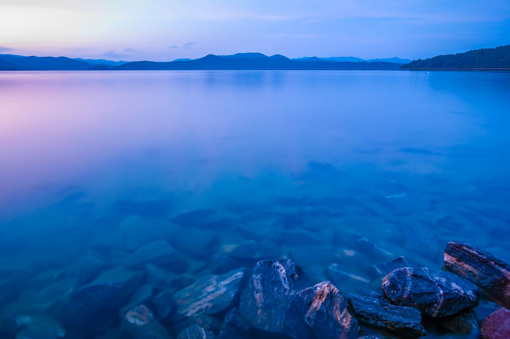 Photo in Fine Art #calm #lake #mountains #river #nature #evening #rocks