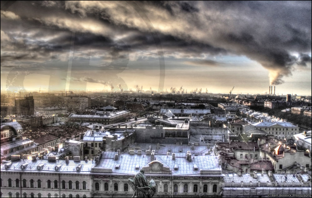 Photo in Cityscape #saint #petersburg #russia #industrial #landscape #cityscape #hdr #high #dynamic #range