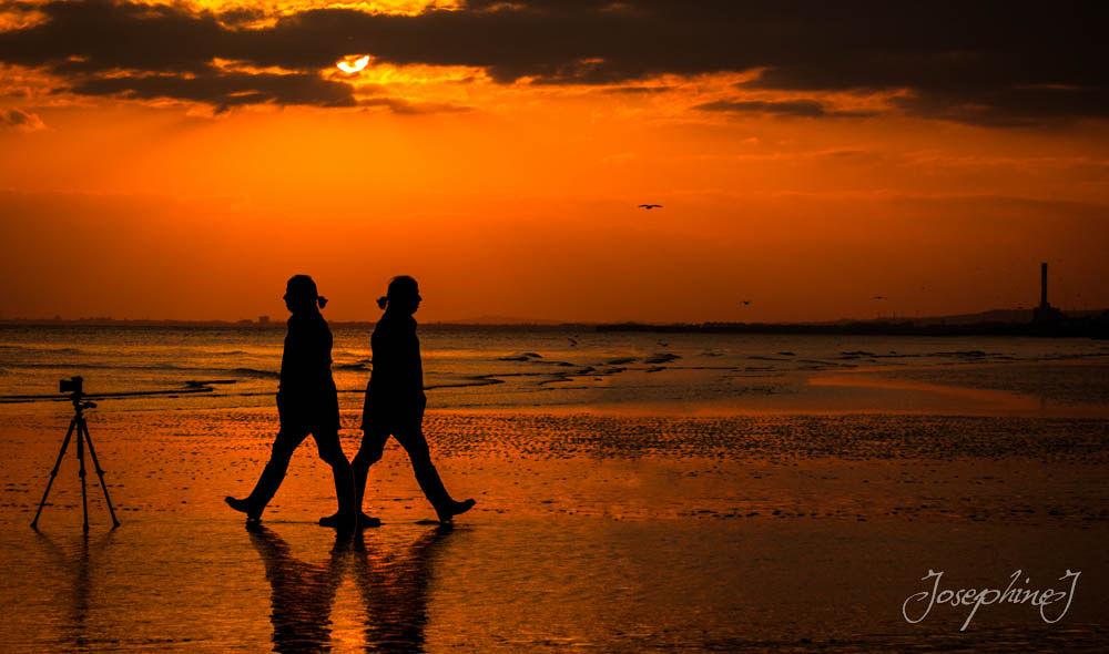 Photo in Fine Art #sunset #photoshop #digital #manipulations #man #photographer
