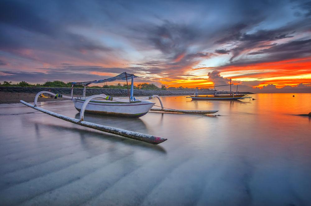 Photo in Landscape #beach #seascape #bali #boat